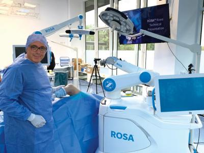 ROSA ROBOTIC KNEE ARTRHOPLASTY